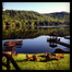 Big Moose Lake from the Inn