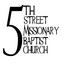 Fifth Street Missionary Baptist Church