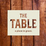 May 19th, 2013  9:00 The Table