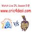 IPL5 Chennai Super Kings v Kolkata Knight Riders F