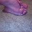 Showing my feet