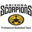 The Arizona Scorpions ABA Profesional Basketball