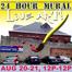 Twenty Four Hour Mural LIVE ART