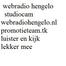 webradiohengelo