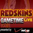 Redskins Gametime Live vs Buccaneers 