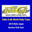 FAITH CRAFT WRT in Rally Japan 09/12/10 12:27AM
