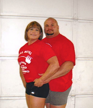 troy and shannon powerlifting wedding