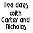 Live Days with Carter and Nicholas