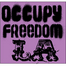 Freedom Visits Occupy Wall St.