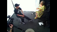 T.I. prepares for interview