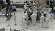Curiosity Cam: The wheels go on! (Part 2)