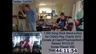 Rock Band Marathon for Child's Play (2nd Annual) 11/06/10 06:24AM