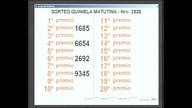 Quiniela Matutina de San Luis N° 2926 27-03-2017