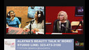 Paula D'Andrea & Chella Diaz on Alayna's Beauty Talk n' More 05-17-17