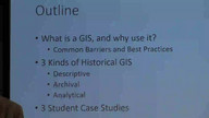 GIS Workshop - School of Historical, Philosophical and Religious Studies