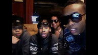 princeton put the bottom of his shoe on camera whats up with that...lol