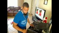 dj negro desde la casa