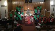 The christmas Dream Team parade