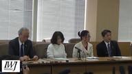 2018/03/15原発賠償京都訴訟判決日開廷前後の裁判所前の模様及び記者会見&報告集会1