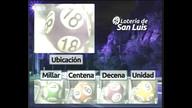 Quiniela Nocturna de San Luis N° 3288 19-05-2018