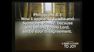 The Phillipians Guide To Joy - Jesus, Joy and Peace