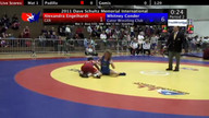 Dave Schultz Women's Freestyle Session 2 Mat 3 Semifinals