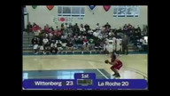 NCAA Division Three Tournament: Wittenberg VS La Roche