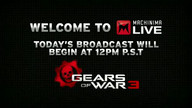 Gears of War 3 beta live stream! 04/26/11 11:13AM