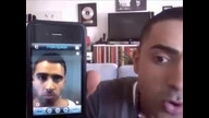 Jay Sean talks to my sister on the phone!