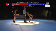 2011 Junior Women&#039;s Freestyle 3rd Place Matches