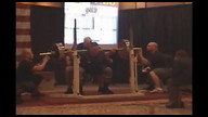 USAPL RAW Nationals 125kg men squats