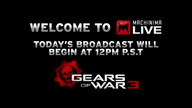 Machinima&#039;s Gears Of War 3 Kick-Off