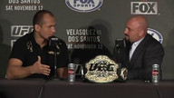 LA Press Conference - Velasquez vs Dos Santos