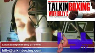 Talkin&#039; Boxing With Billy C November 18, 2011 3:47 AM