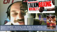 Talkin' Boxing With Billy C November 29, 2011 4:40 AM