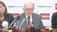 Warren Buffett's Press Conference In Japan