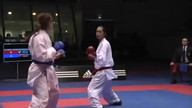 Karate| WKF| -55 Kumite Individual Female Seniors, Paris 2012