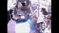 Russian Cosmonauts Go on 6-Hour Spacewalk