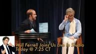 Will Ferrell live in studio