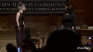Oprah Winfrey Joins Lady Gaga at Harvard