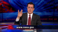 Stephen Colbert is a big fan of NASA