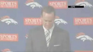 Broncos Introduce Peyton Manning As New QB