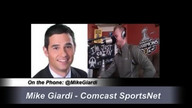 Comcast SportsNet's Mike Giardi