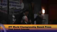 World Championship Bench Final 120 over KG