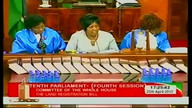 Parliament Proceedings 25th April 2012