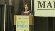 Katrina vanden Heuvel at Green Festivals