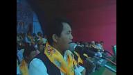 Kumar Lingden from Limbuwan at Tamuwan