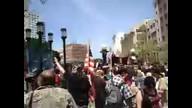 Oakland police throw grenades at Mayday protesters