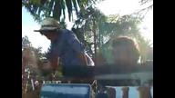 Occupy The Farm - farmers at fence