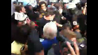 5/20/2012 - #NoNato March / OccupyFreedomLA in the thick of the crowd when Chicago Police begin pushing into crowds of protesters..